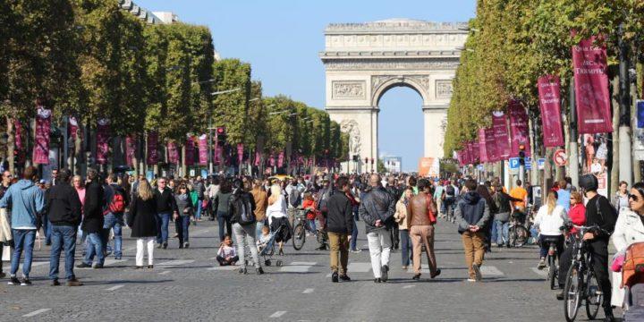 La journée mondiale sans voiture, façon parisienne