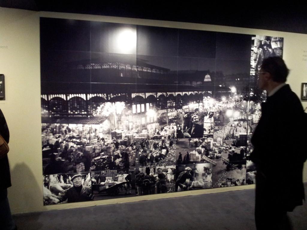 """Exposition """"Doisneau, Paris Les Halles"""""""