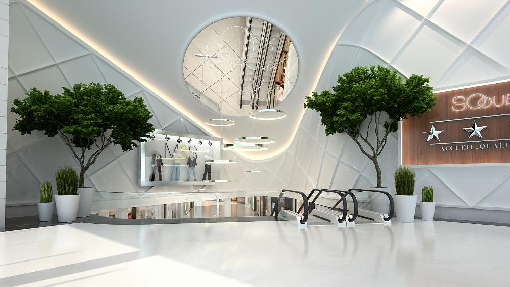 So Ouest le nouveau centre de shopping chic à Paris
