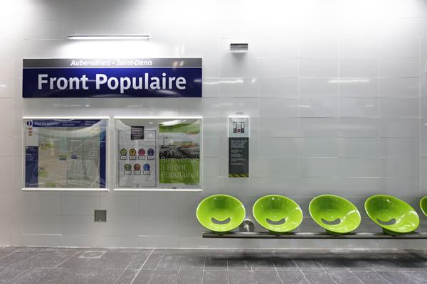 Métro Ligne 12 - Front Populaire