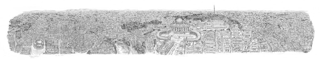 Stephen Wiltshire panorama rome