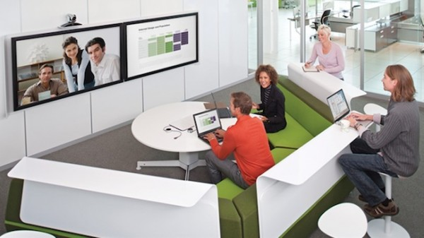 Un bureau du concept Y aurait la technologie permettant de télétravail