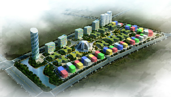 un immeuble planifié par les ingénieurs Grontmij
