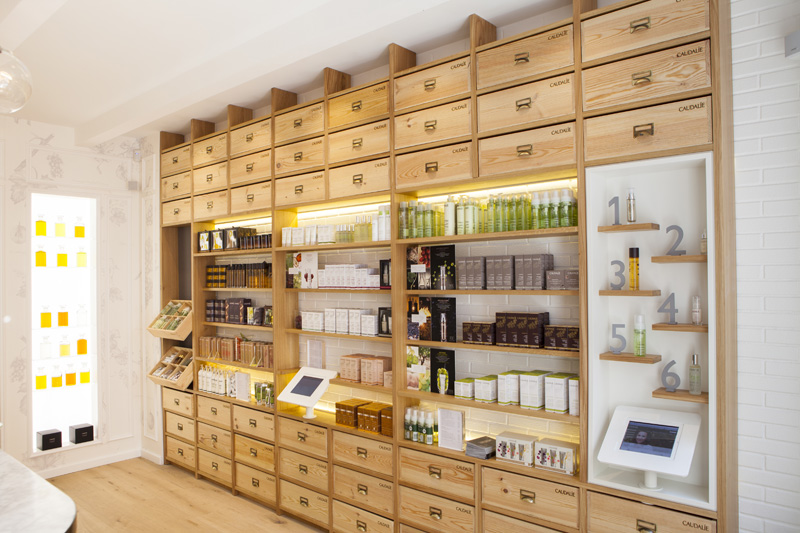 Caudalie ouvre les portes de sa premi re boutique fran aise - Boutique meuble paris ...