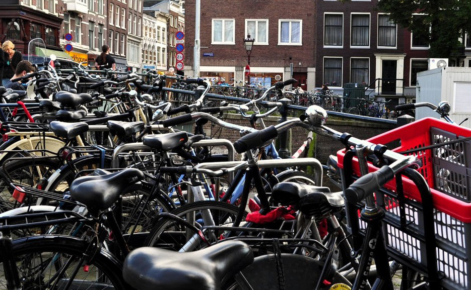 Bike Amsterdam Park Urban Attitude