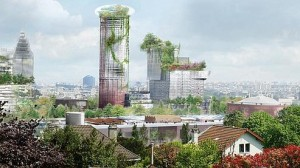 Projet d'aménagement de l'Ile Seguin par Jean Nouvel Crédit : Ateliers Jean Nouvel