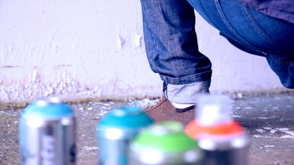 Street Art Peinture Urban Attitude