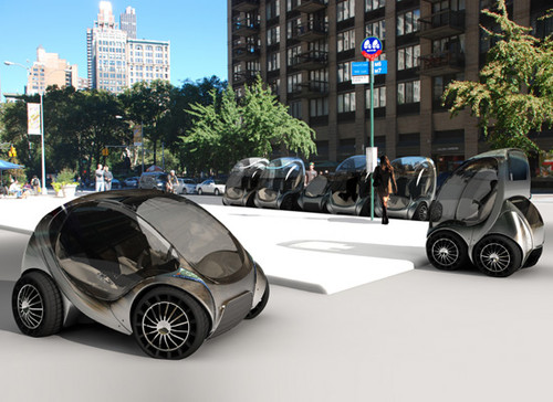 Smart Cities Citycar Urban Vehicle 01