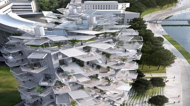 : L'Arbre Blanc de Fujimoto