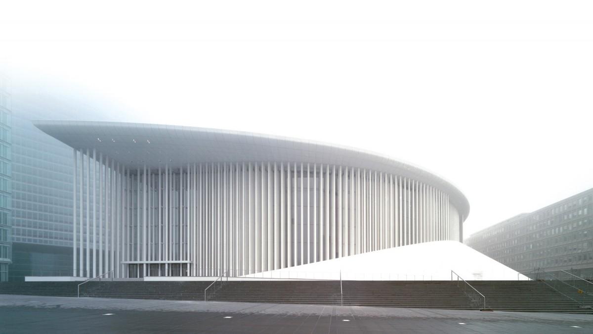 Christian de portzamparc l architecture comme mouvement for Architecte luxembourg