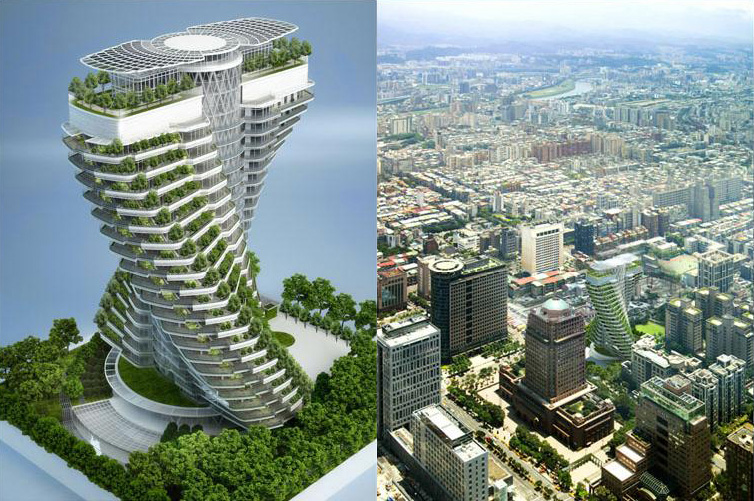 Vincent callebaut l homme qui construit le futur urban for Architecture du futur
