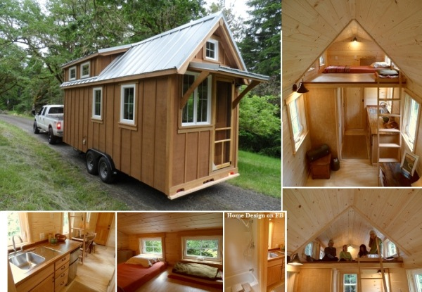 La Tiny house ou lloge de lescargot