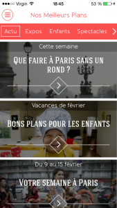 APPLI QUE FAIRE A PARIS-HOME