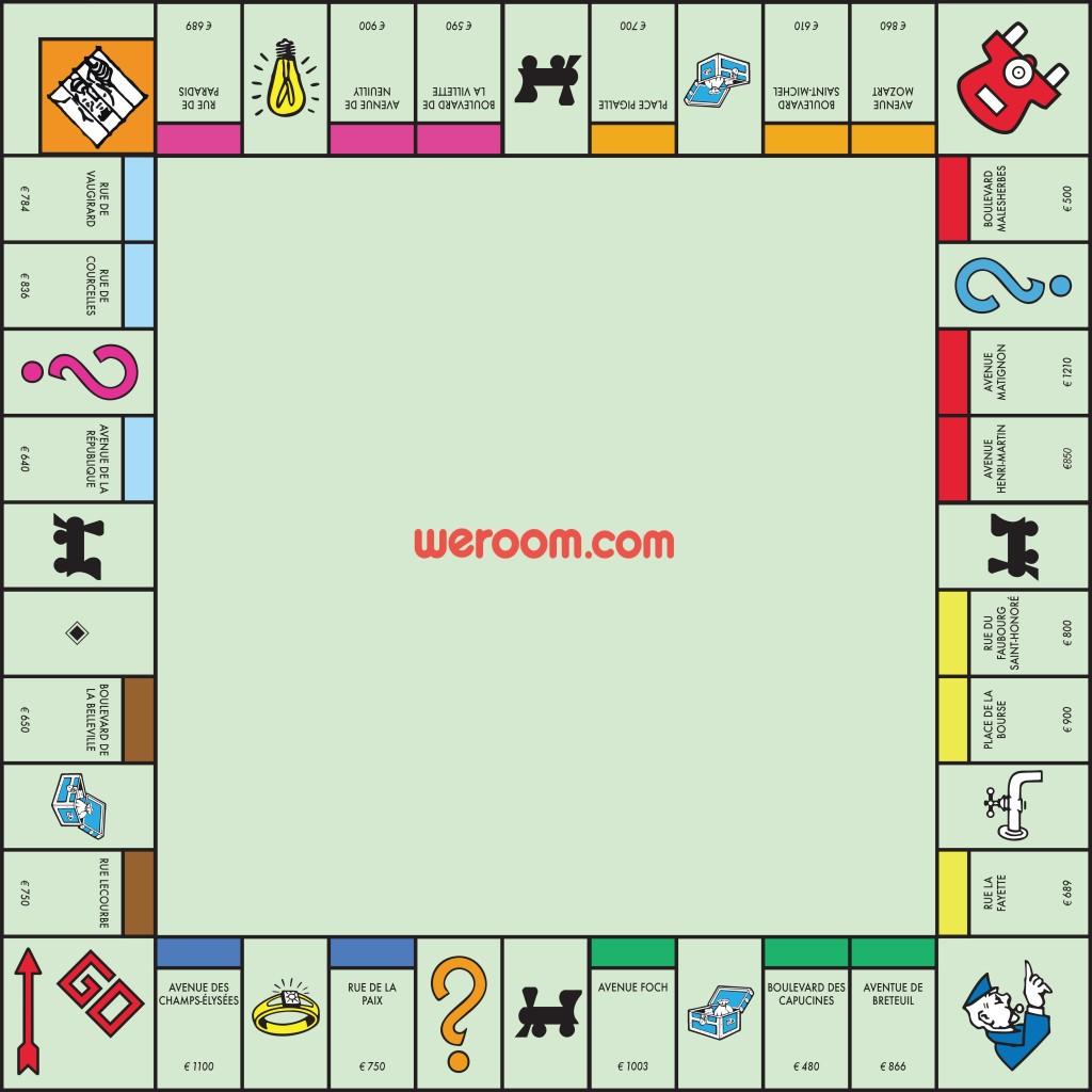 monopoly weroom logement étudiant