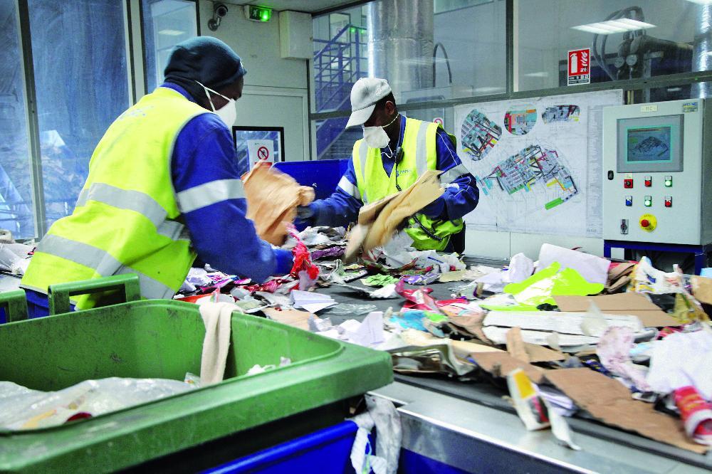 gestion déchets paris