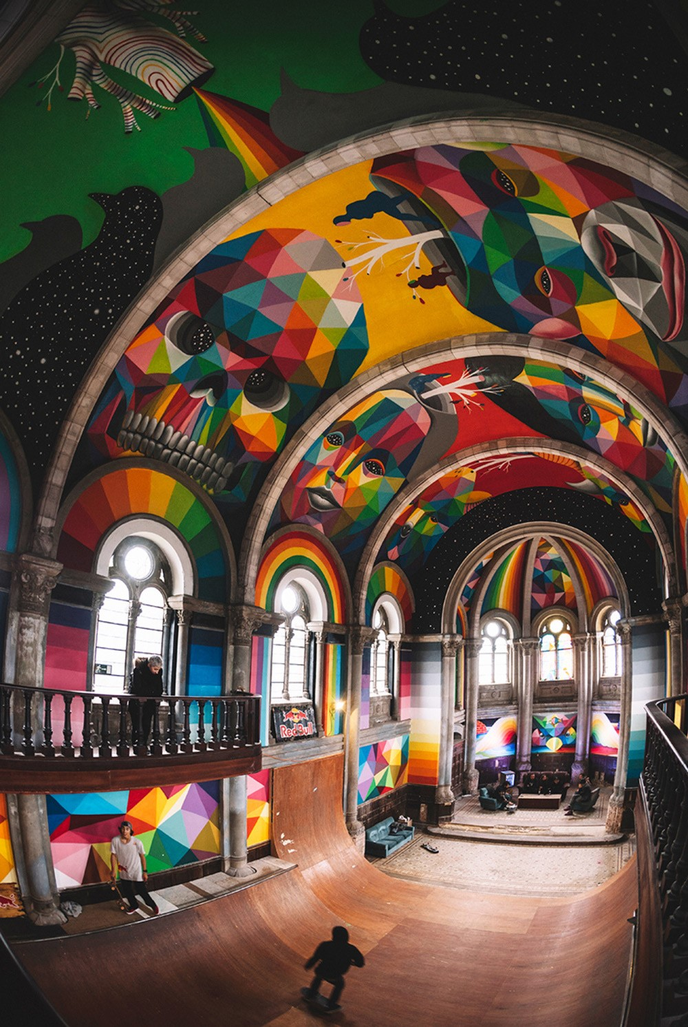 kaos temple skate espagne église
