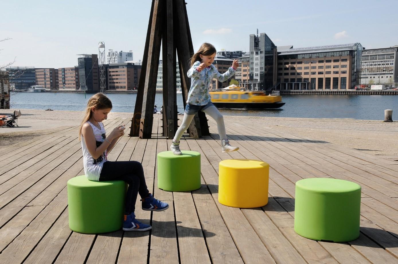 ville asseyable siège mobilier urbain