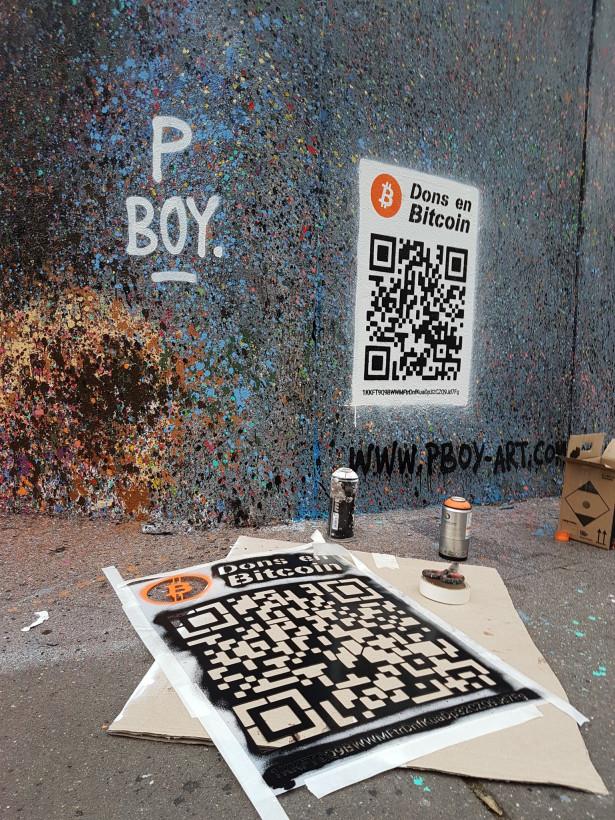 Pascal Boyart alias PBOY : un crypto-artiste engagé