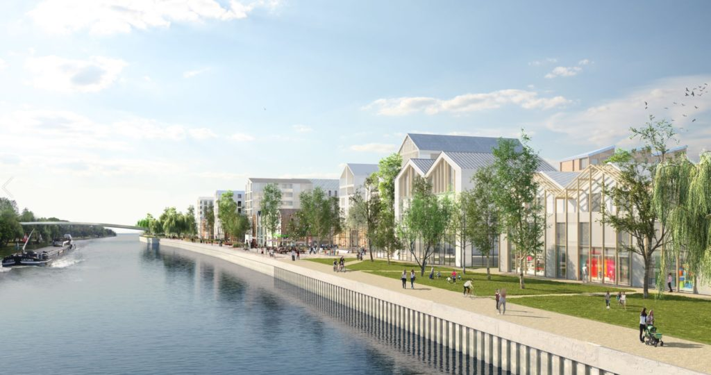 Projet Immobilier Quai 22 Saint Andre Lez Lille Novacity Urban Attitude