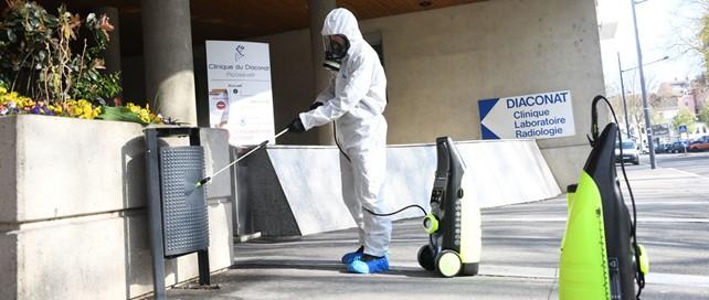Desinfection Espace Public